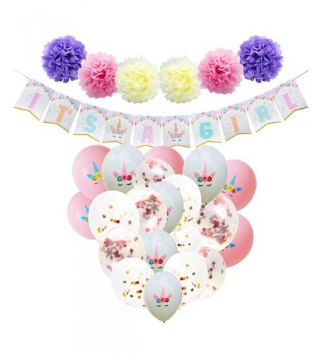 WERNNSAI Baby Shower Decorations Girl