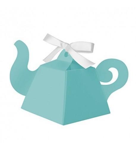 Paper Frenzy Teapot Favor Boxes