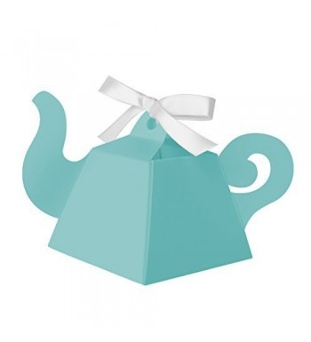 Paper Frenzy Teapot Favor Boxes