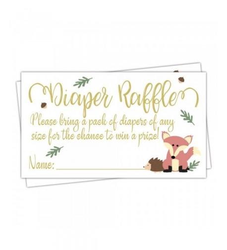 50 Fox Diaper Raffle Tickets