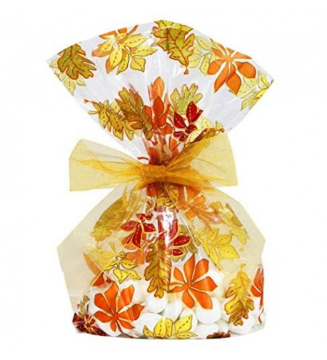 Saybrook Products Thanksgiving Cellophane Twist Tie