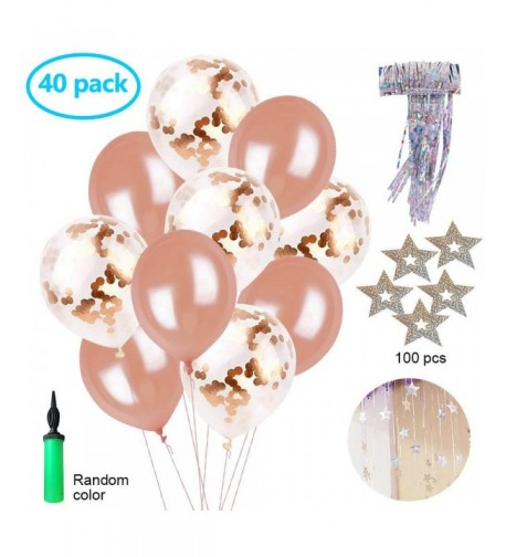 Confetti Balloons Decorations Sparkling Engagement