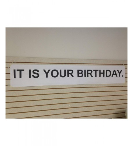 Your Birthday Paper Banner Office