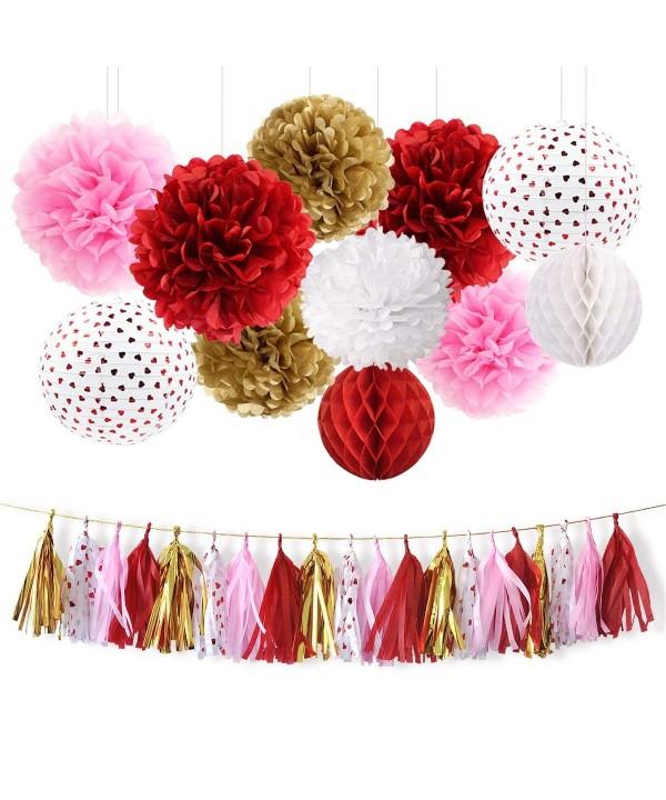 NICROLANDEE Decoration Flowers Valentines Birthday