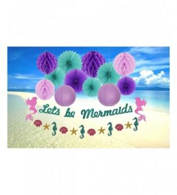 MEANT2TOBE Mermaid Birthday Party Decoration