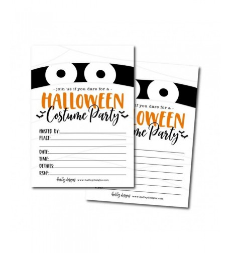 Halloween Invitation Birthday Spooktacular Printable