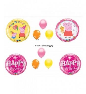PEPPA Birthday Balloons Decorations Supplies