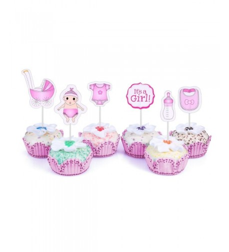 Cupcake Toppers Shower Decorating Supplies