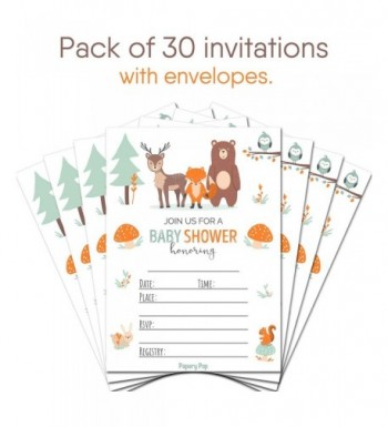 Brands Baby Shower Party Invitations