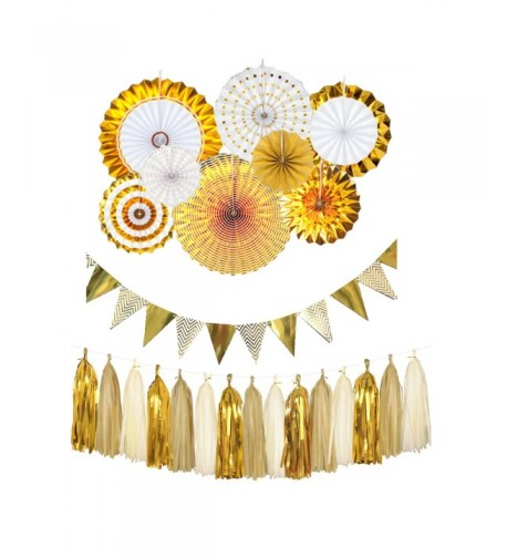 Funpa Decorations Tassels Pennant Birthday