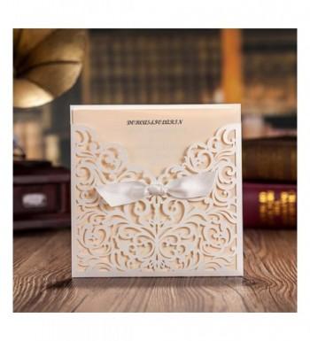 Wishmade Tri fold Invitations Engagement Quinceanera