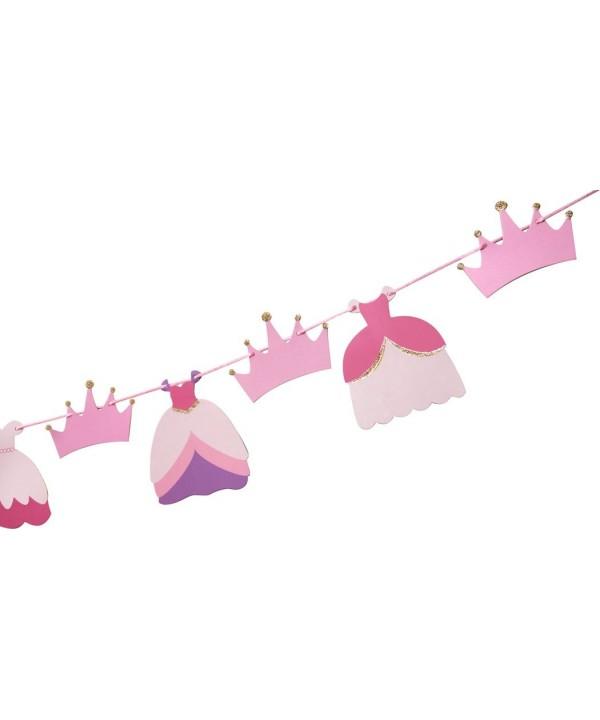 Garland Birthday Princess Nursery Glitter