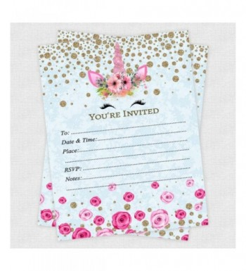 Birthday Party Invitations Outlet