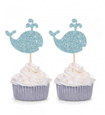 Glitter Cupcake Birthday Creature Decorations