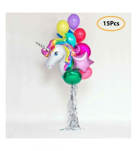 Decoration Birthday Balloons Colors Kids