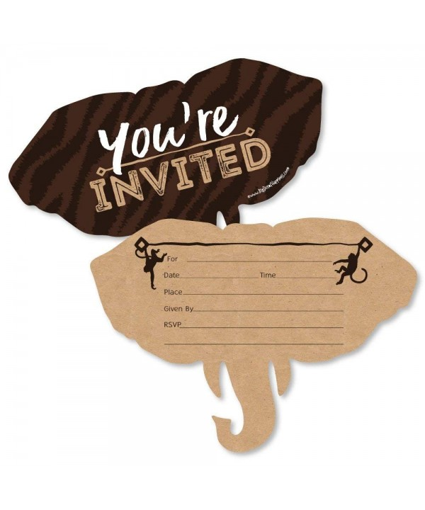 Wild Safari Fill Invitations Invitation