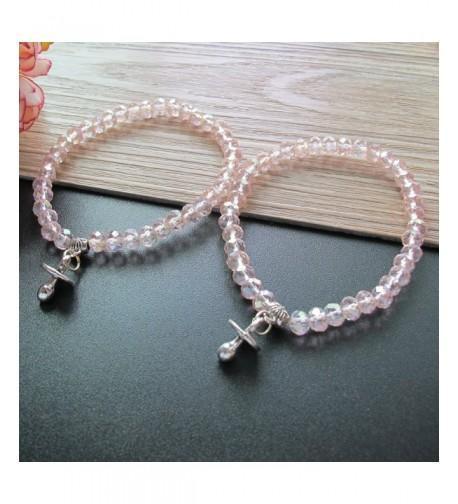 Shower Stretchy Crystal bracelet Pacifier