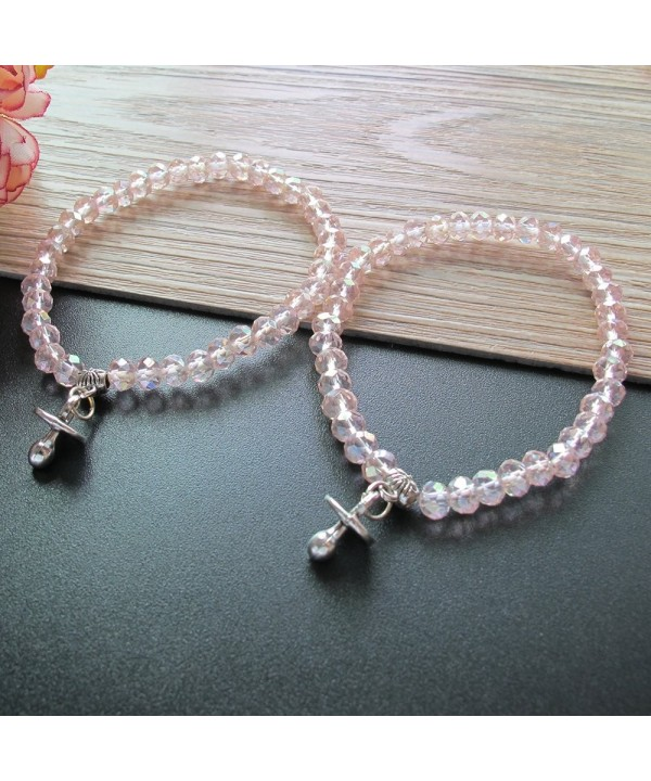 Shower Stretchy Crystal bracelet Pacifier