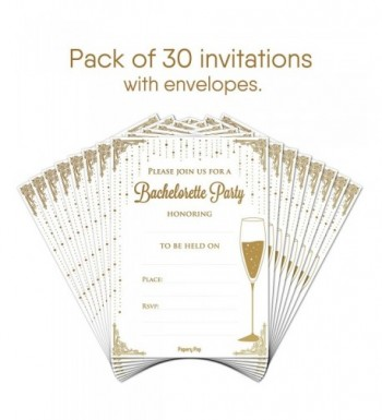 Discount Bridal Shower Party Invitations