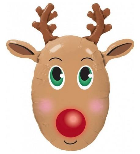 Massive Balloon Reindeer Rudolph Christmas