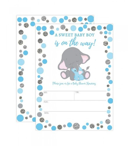 Elephant Shower Invitation Invitations Envelopes