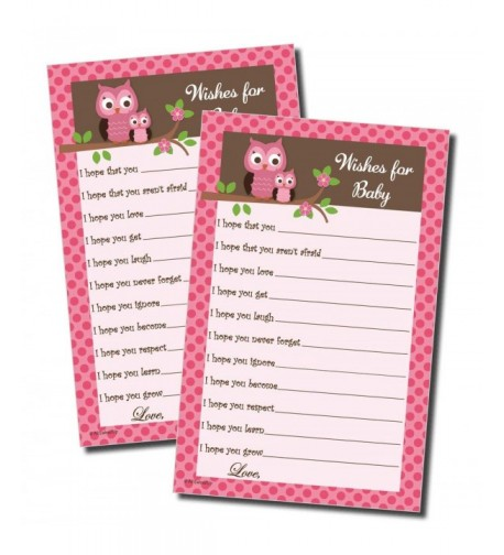 Wishes Baby Shower Game 50 sheets