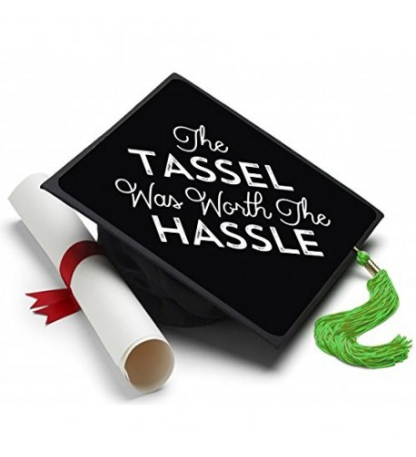 Tassel Toppers Worth Hassle Decorated