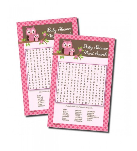 Word Find Search Shower 50 sheets