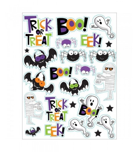 Halloween Spooky Character Stickers Sheets