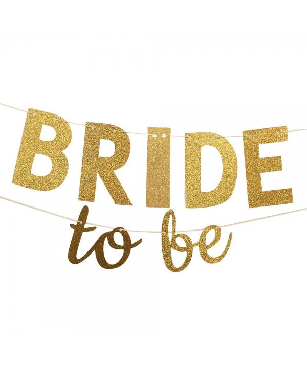 Glitter Banner Wedding Bunting Garland