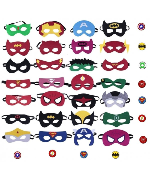 28 Pack Superhero Birthday Children UPGRADE