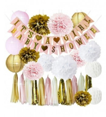 PartyPlanet Decorations Lanterns Honeycomb Tassels