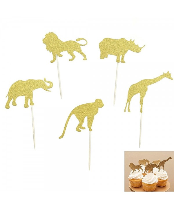 Elephant Giraffe Birthday Decorations Shxstore