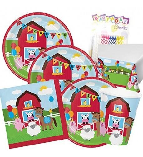 Farmhouse Supplies Pack Serves 16 Tablecloth