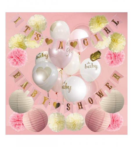 Baby Shower Decorations Girl Balloons