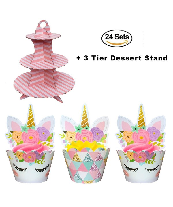 Coco Ella Unicorn Cupcake Wrappers