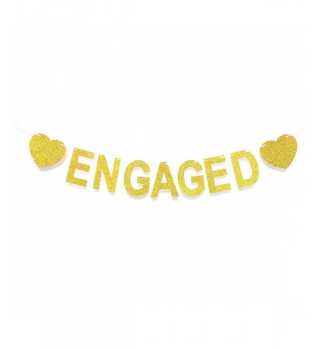 GZFY ENGAGED Engagement Bachelorette Decorations