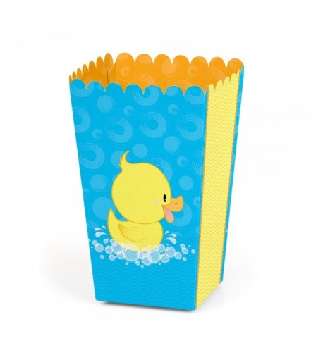 Ducky Duck Shower Birthday Popcorn