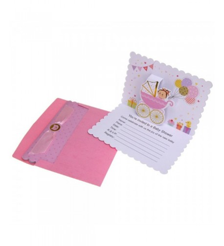 Homeford Shower Pop Up Invitations 10 Count