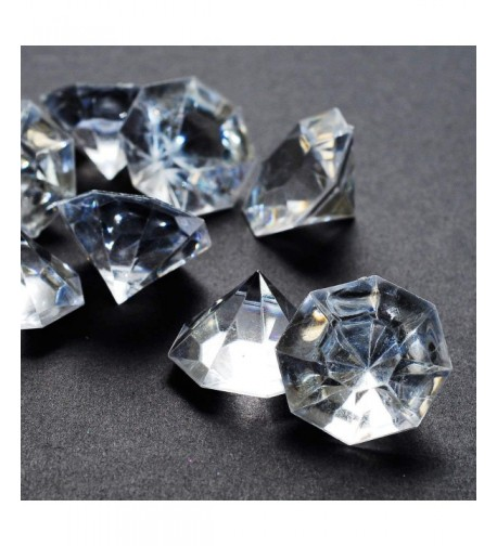 Pounds Carat Clear Acrylic Diamonds