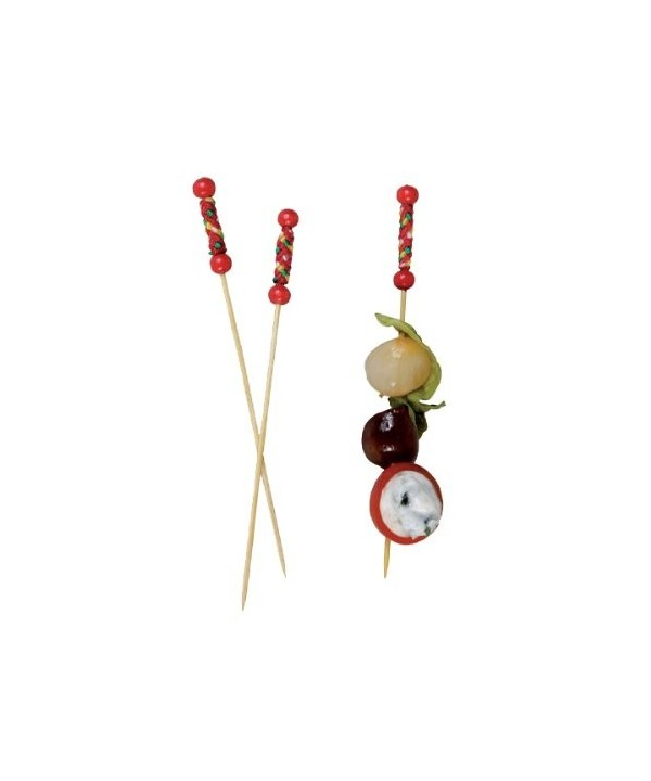 Bamboo Natural Beads Design PacknWood