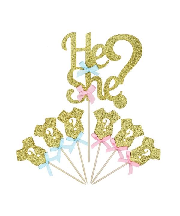 LIDAGO Glitter Cupcake Decoration Supplies