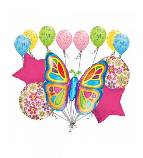 Colorful Butterfly Balloon Bouquet Birthday