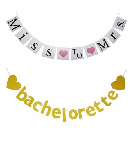Bachelorette Party Decorations Banner 2 Pieces