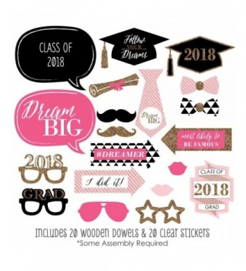 Most Popular Graduation Party Photobooth Props