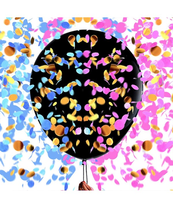 Gender Reveal Confetti Balloons Announcement