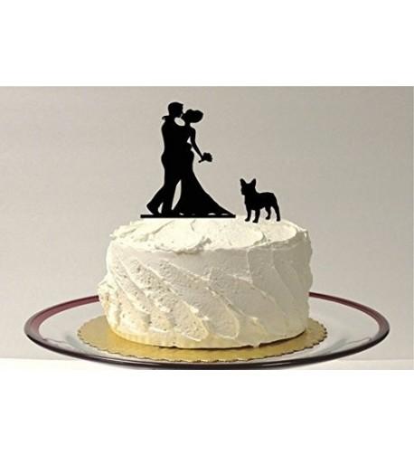 Wedding Topper Silhouette French Bulldog