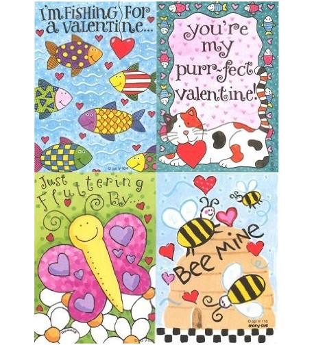 Kids Sweet Valentine Card Assortment