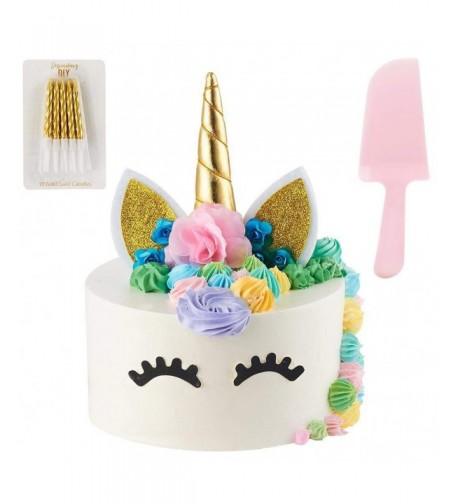 Unicorn Handmade Supplies Decorations Birthday