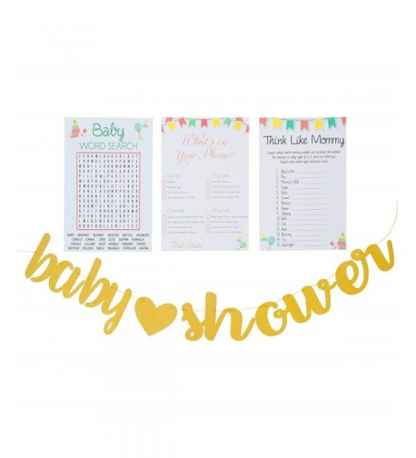 Planet Mango Shower Search Sheets